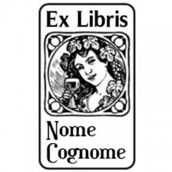 Ex Libris timbri circolari