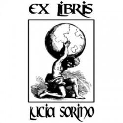 Ex Libris timbri rettangolare