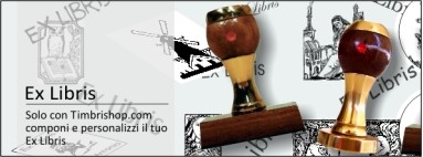 Timbrishop.com Ex Libris un tocco di eleganza e di classe